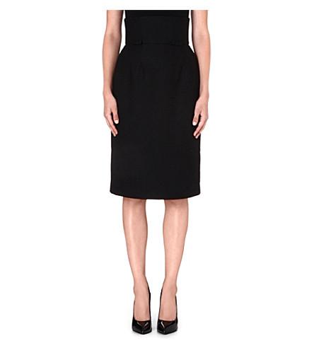 FIFI CHACHNIL Francette crepe skirt (Black