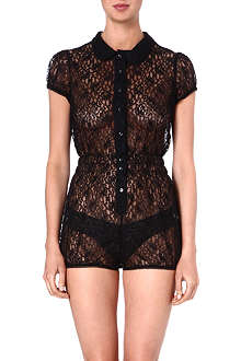FIFI CHACHNIL Babyloo lace playsuit