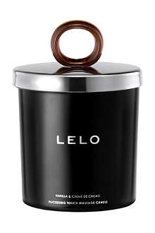 LELO Flickering Touch vanilla & crème de cacao massage candle