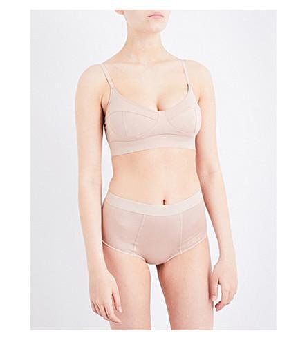 BASERANGE Soft bamboo bra (Nude