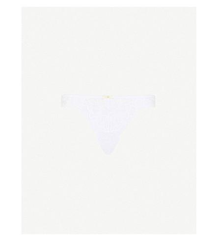 ELLE MACPHERSON BODY Stretch lace thong (Bright+white