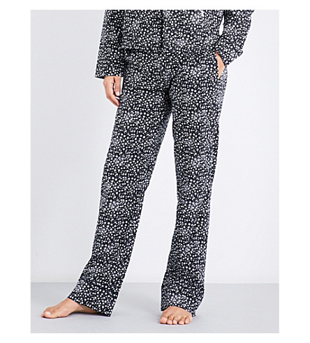 LES GIRLS LES BOYS Star-print cotton pyjama trousers (Star+print