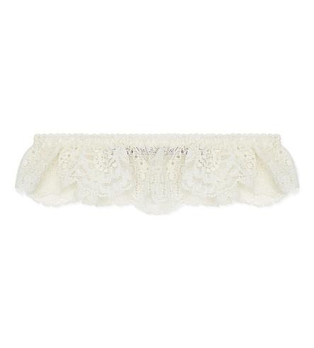 STELLA MCCARTNEY Lace garter (Ivory