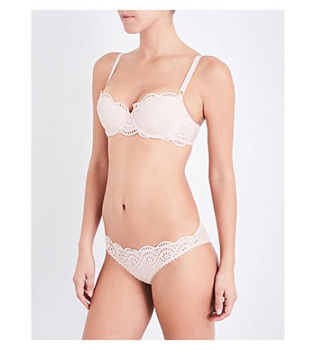 STELLA MCCARTNEY Rachel Shopping balconette bra (Peony