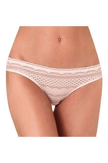 STELLA MCCARTNEY Alina Playing lace bikini briefs