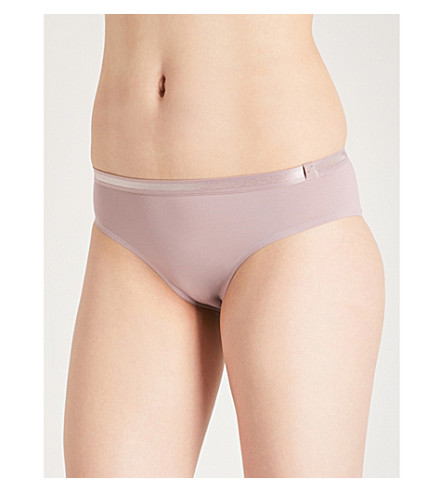 S BY SLOGGI Serenity stretch-jersey hipster briefs (Foggy+mauve