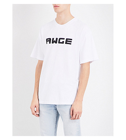 AWGE AWGE x A$AP Rocky Or Northing cotton-jersey T-shirt (White