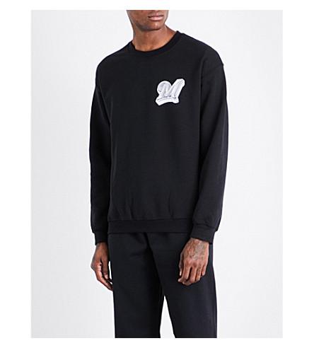 MARINO INFANTRY AWGE Bodega logo-print cotton-jersey sweatshirt (Black
