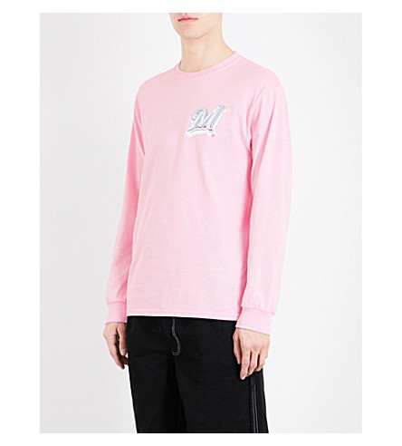 MARINO INFANTRY AWGE Bodega Marino Infantry x A$AP Rocky cotton-jersey top (Pink