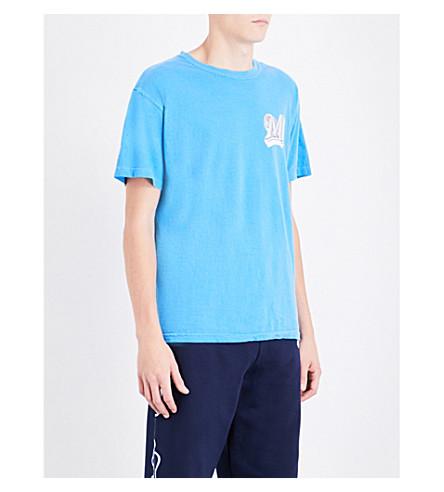 MARINO INFANTRY AWGE Bodega Logo-print cotton-jersey T-shirt (Blue