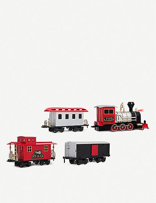 FAO SCHWARZ Motorized 30-piece train set