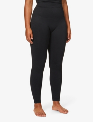 Look At Me high-waist stretch-jersey leggings