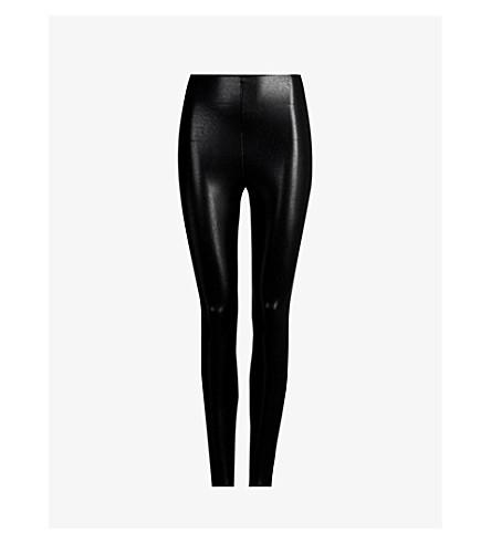 COMMANDO Faux-leather leggings (Black