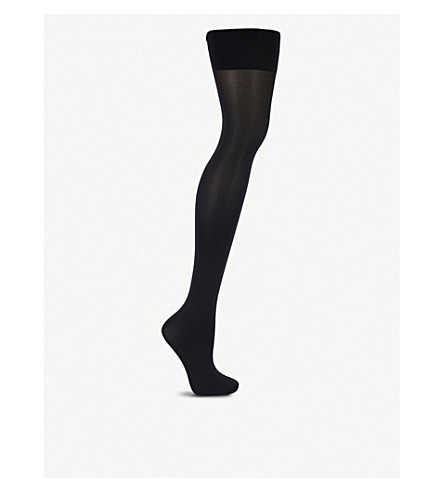 WOLFORD Tummy 66 control top tights (Black