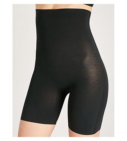 WOLFORD Cotton Contour control shorts (Black