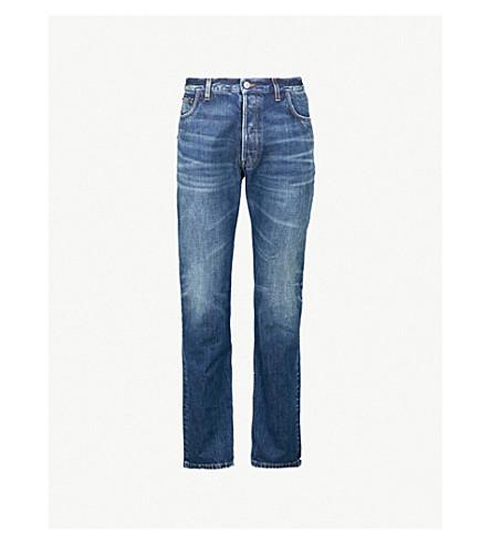 BALENCIAGA Regular-fit straight jeans (Med vintage