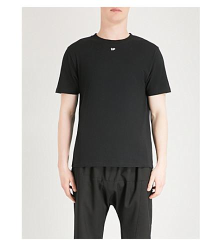 OFF-WHITE X BYREDO Up Waiting cotton-jersey T-shirt (Black