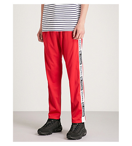 THE ROLLING STONES The Rolling Stones sports-jersey jogging bottoms (Red