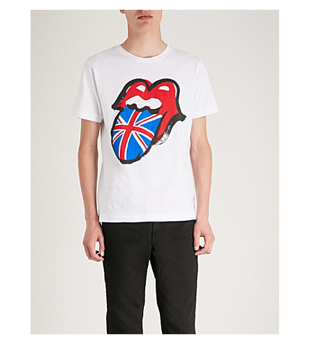 THE ROLLING STONES The Rolling Stones cotton-jersey T-shirt (White
