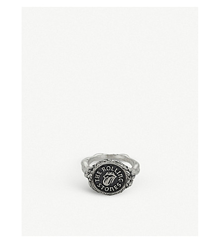 THE ROLLING STONES X JADE JAGGER MEDALLION RING