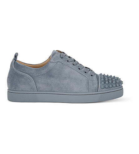 CHRISTIAN LOUBOUTIN Louis Junior spikes flat (Squale/squale+mat