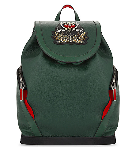 CHRISTIAN LOUBOUTIN Explorafunk backpack (Jungle