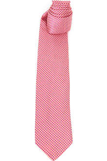 PENROSE Micro-diamond silk tie