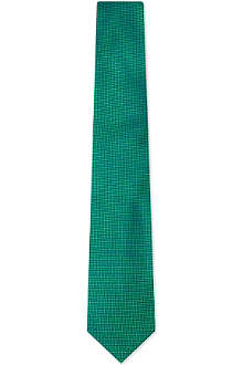 DRAKES Diamond silk Oxford tie