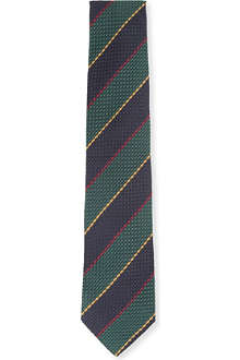DRAKES Grenadine striped tie