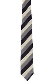 DRAKES Regular striped tie