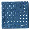 DRAKES Polka dot cotton pocket square