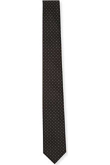 PECKHAM RYE Reppe Twill ground-pin spot tie