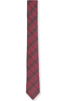 PECKHAM RYE Big and mini check tie