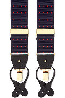 ALBERT THURSTON LTD Polka-dot braces