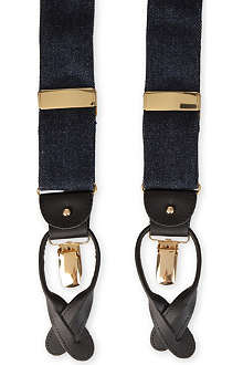 ALBERT THURSTON LTD Denim braces