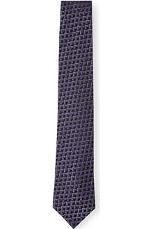 CHESTER BARRIE Geometric tie