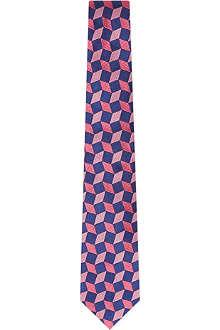 TURNBULL & ASSER Silk 3D box tie