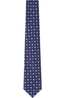 TURNBULL & ASSER Paisley patterned tie