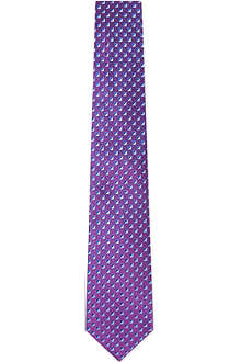 TURNBULL & ASSER Square print silk tie