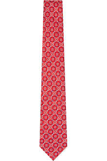 TURNBULL & ASSER Circle cluster tie