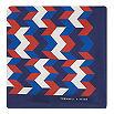 TURNBULL & ASSER Box weave silk pocket square