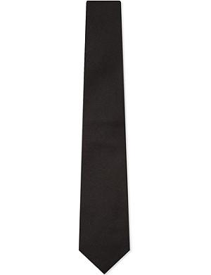 TURNBULL & ASSER Twill silk tie