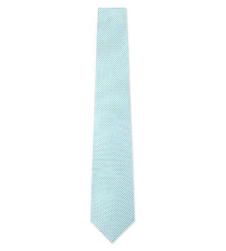 ETON Silk square tie (Teal