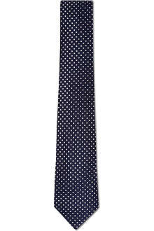 ATKINSONS Mini polka dot tie