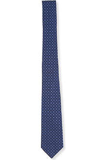 SIMON CARTER Interlock woven silk tie