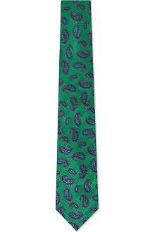 DUCHAMP Herringbone Paisley tie