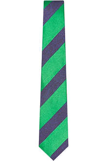 DUCHAMP Kingston block stripe tie