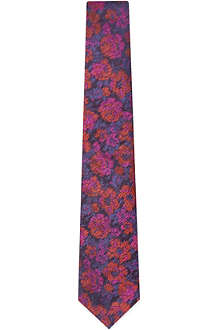 DUCHAMP Textured rose tie
