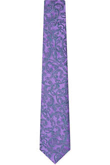 DUCHAMP Ornate paisley tie