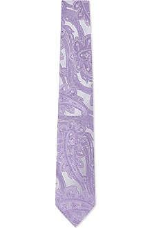 DUCHAMP Summer Paisley tie